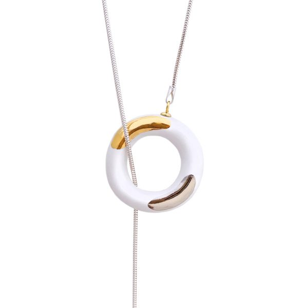 BIG OM CHOKER MIX NECKLACE