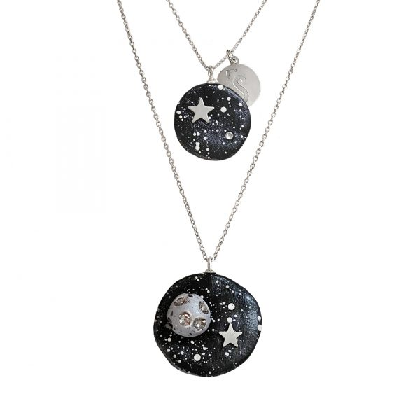 PIECE OF STARRY NIGHT COLLIER