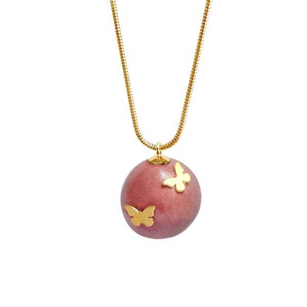 OH SWEET HONEY BUTTERFLY NECKLACE